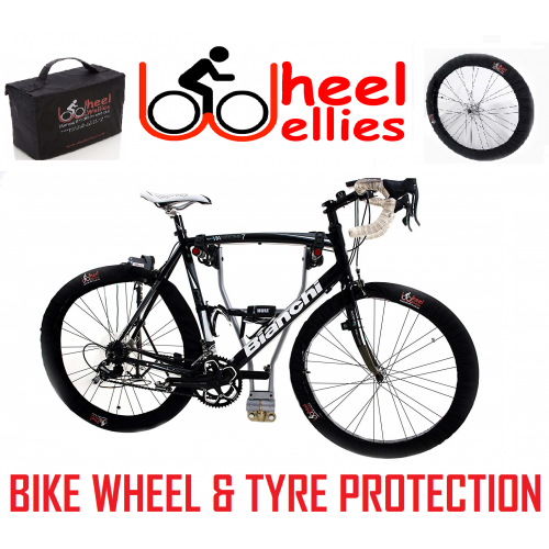 Wheel Wellies - Bike Wheel And Tyre Protection - Free Delivery