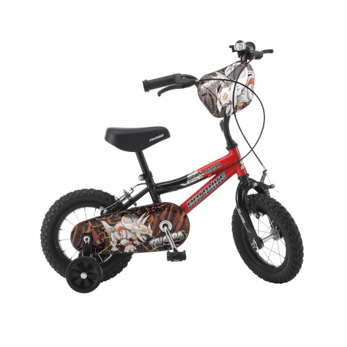 "14"" ProBike Tricera Boys Black & Red Bike - Free Delivery"