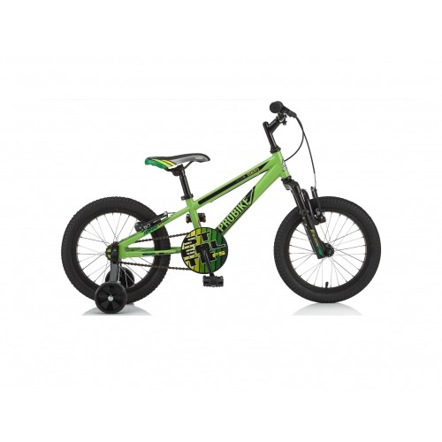 "18"" ProBike Stealth FS Boys Green Bike - Free Delivery"