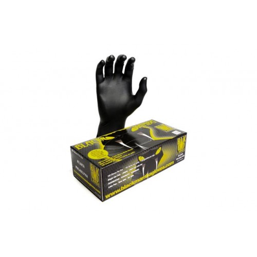 Black Mamba Industrial Strength Nitrile Gloves - Large - Box Of 100