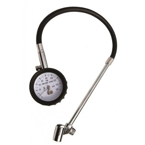 Race X RX2932 Truck Tyre Pressure Gauge- Ideal For Vans / 4x4 / Motorhomes Etc - Reads Upto 150psi / 1100bar