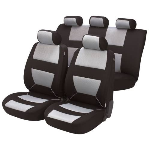 Alfa Romeo Walser Bozen Car Seat Covers - Full Set - Grey & Black  - Free Delivery !