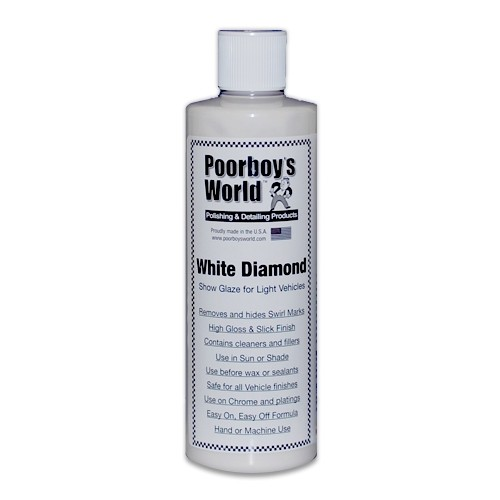 Poorboys White Diamond Show Glaze Car Polish