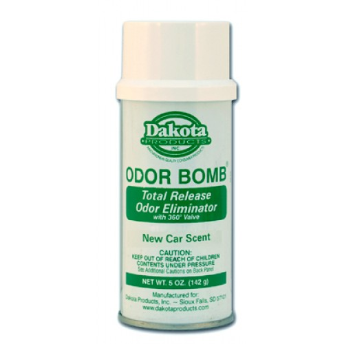 Dakota Odor Bomb - The Best Car Odor Eliminator / Air Freshener You Can Buy ! NEW CAR SCENT