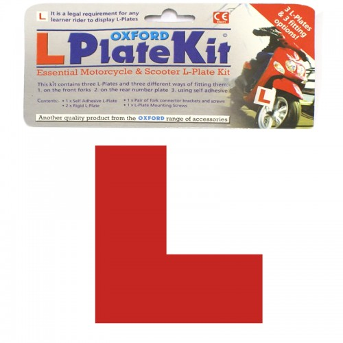 Oxford OF734 Motorcycle L Plate Kit